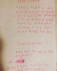 the magic of christmas local girl writes adorable letter to santa
