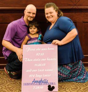 Local family celebrates 5-year anniversary of bringing