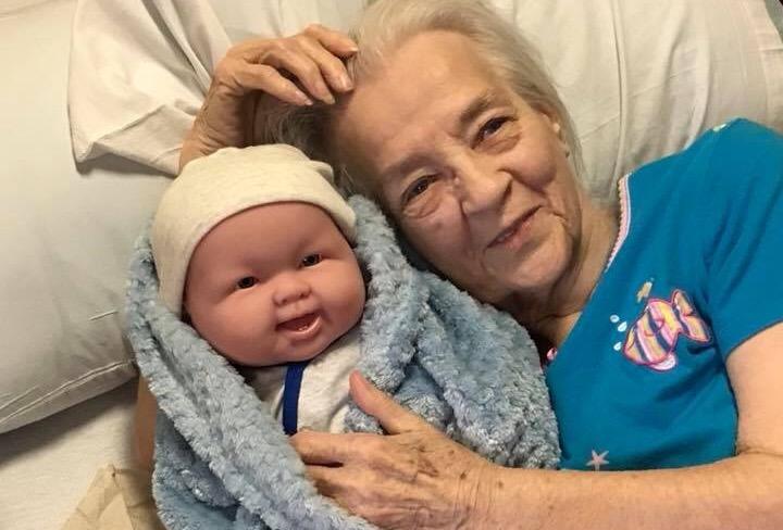 Kind Women Deliver Baby Dolls To Elderly Dementia