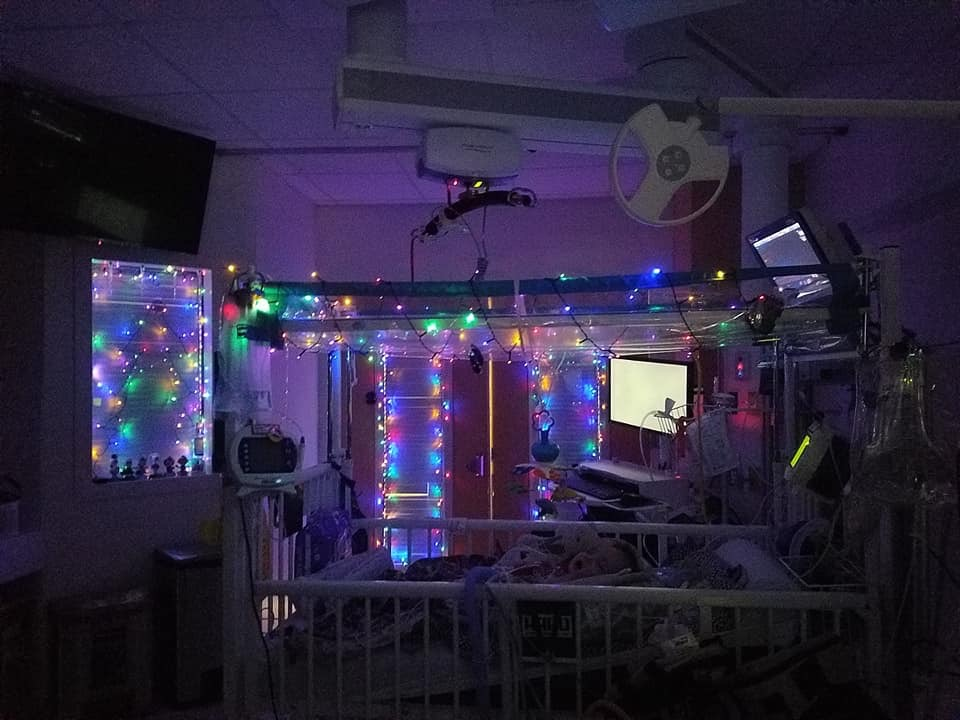 Story Behind Christmas Tree In Hospital Window For Mikey
