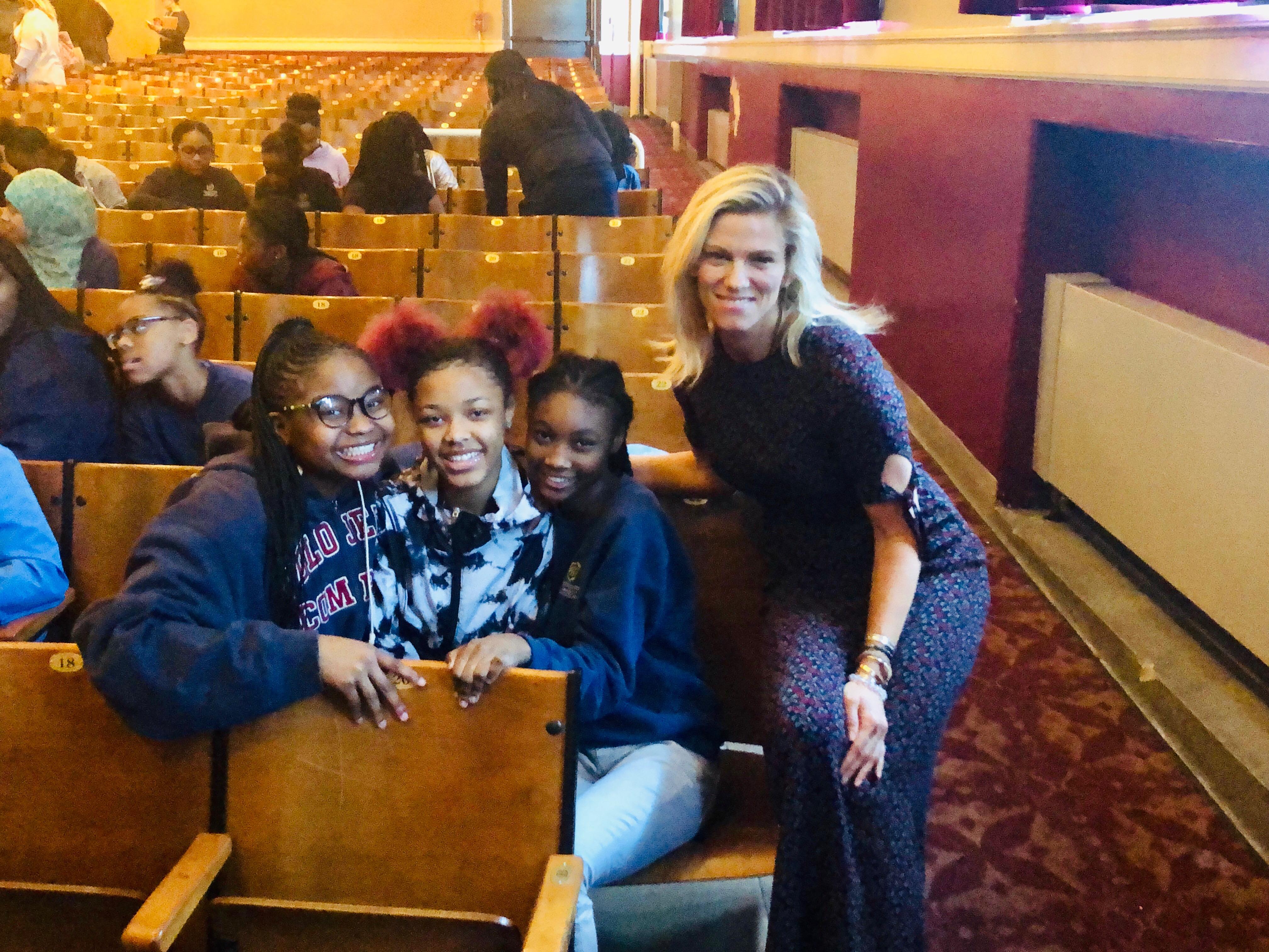 Saturday Night Live producer Lindsay Shookus talks kindness, empowerment to girls at Buffalo school