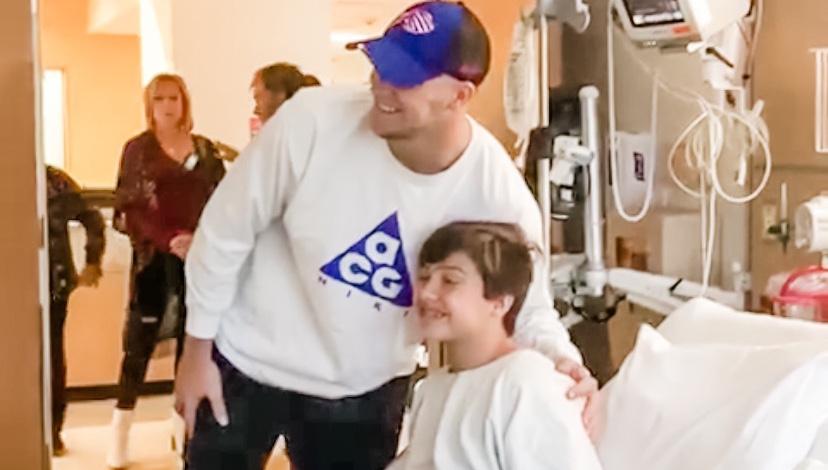 Bills Quarterback Josh Allen using his celebrity for good