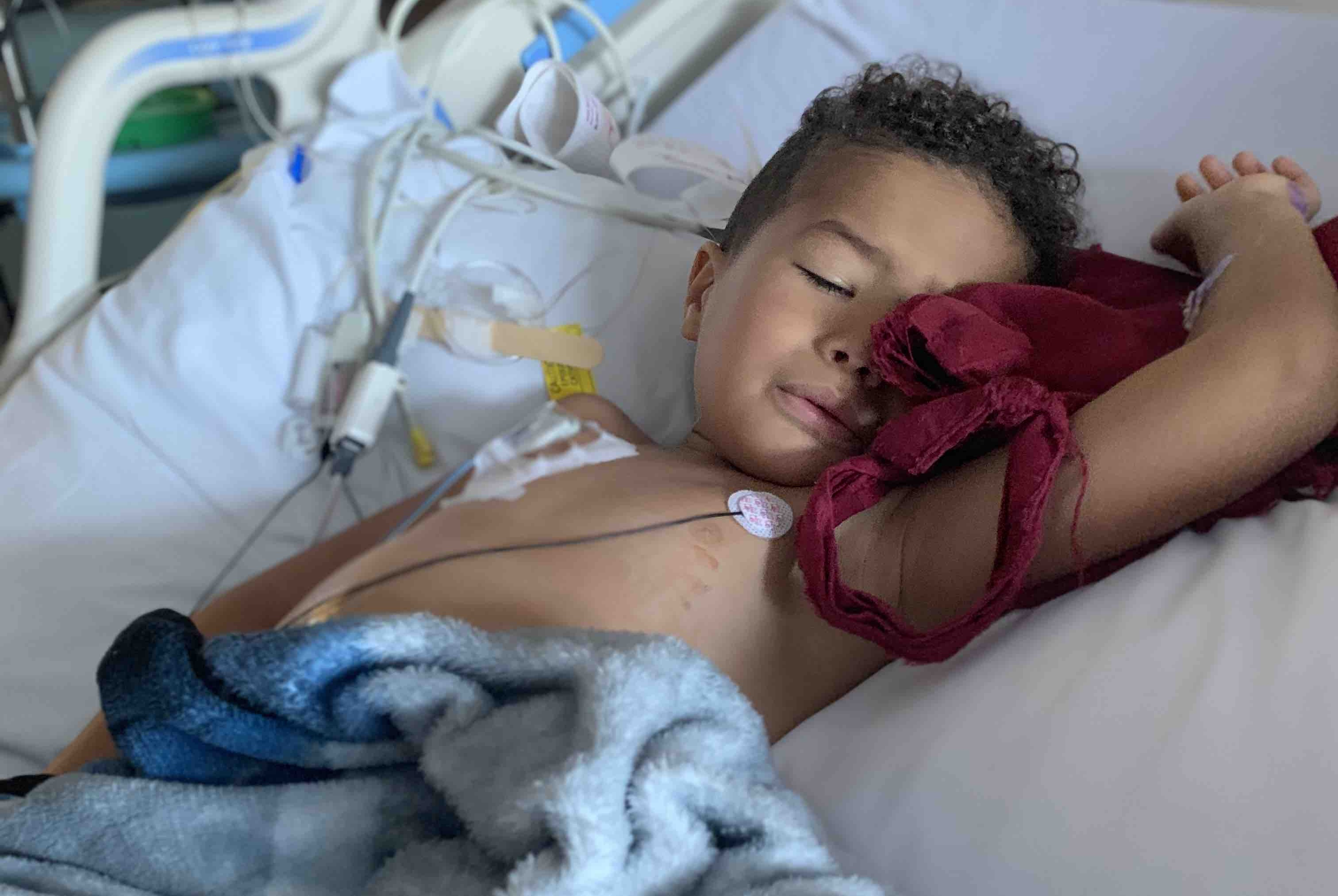 Community Rallies For Andre The Warrior 4 Year Old Boy Battling Stage 4 Kidney Cancer Sweet Buffalo
