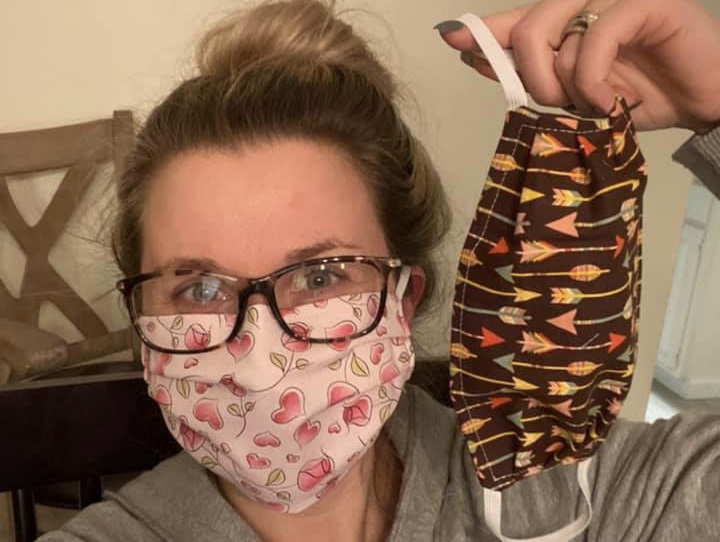 Community coming together to help during medical mask shortage crisis