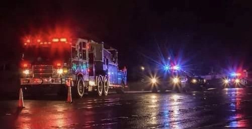 Tow truck companies, first responders to 'Light Up The Night' for healthcare workers