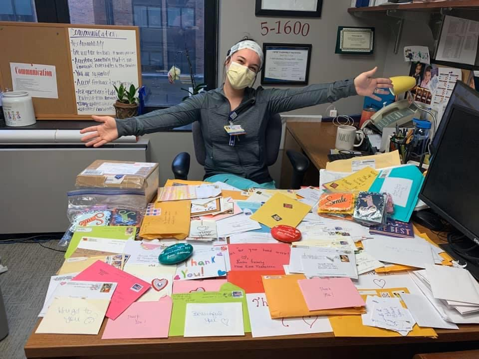 Hundreds of cards, gifts from all over United States sent to healthcare workers in Rochester