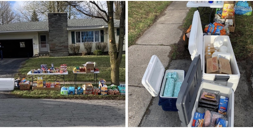 Man leaves fresh groceries on front lawn and tells everyone on Facebook 'take what you need'