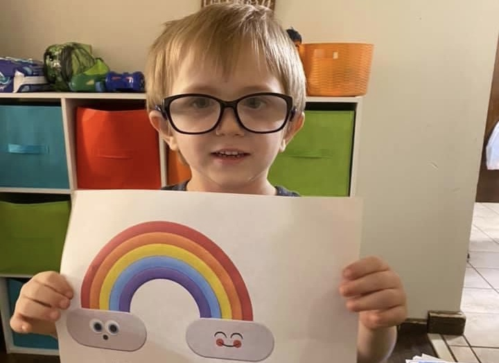 Boy with autism and brother need spirits brightened, community asked to send cards, artwork