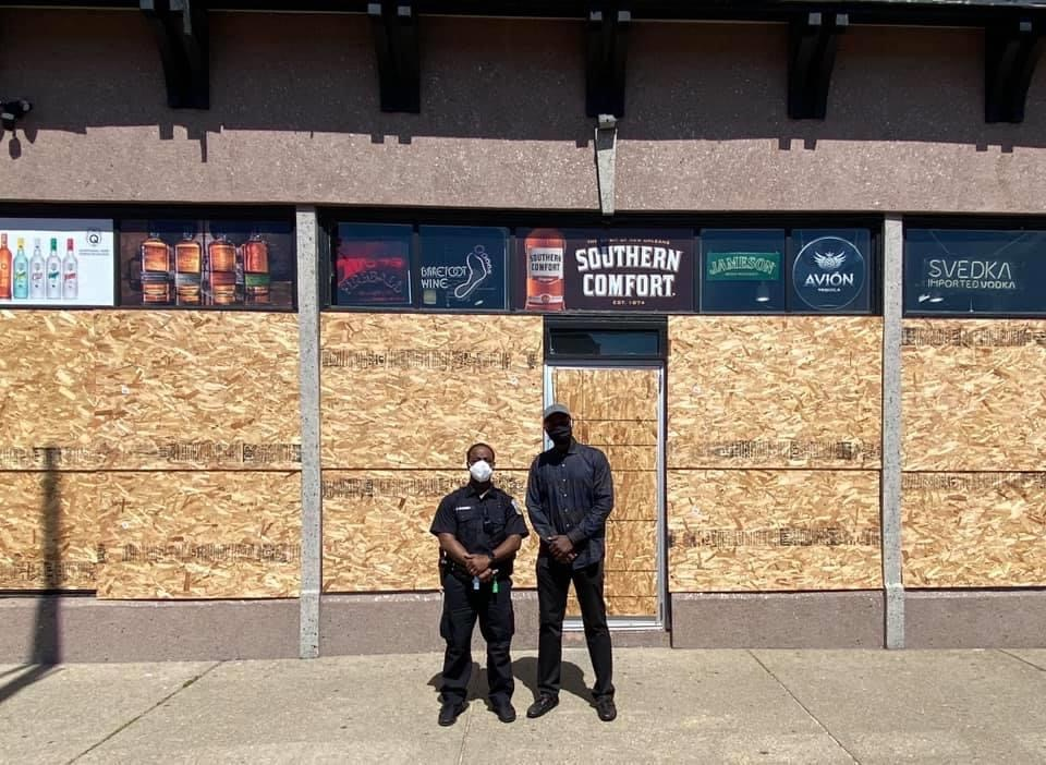 Buffalo Singing Cop helps stop friend's business from being looted, shares powerful message