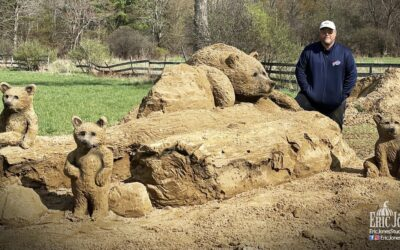 WNY man makes breathtaking sand sculptures to benefit charity