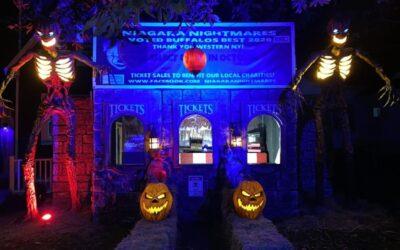 870 Lee Home Haunt in North Tonawanda opens this Friday!